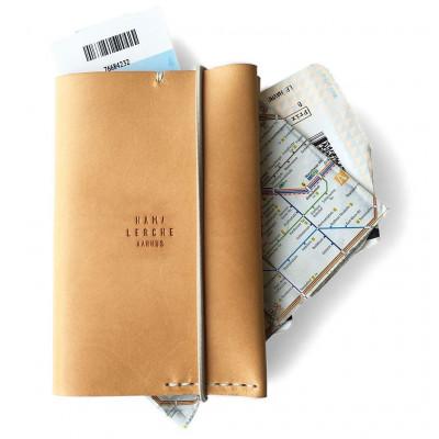 Passport Wallet   Natural