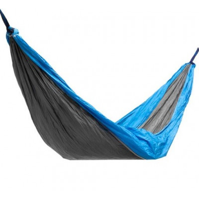 Doppel-Camping-Hängematte Rest & Swing   Blau