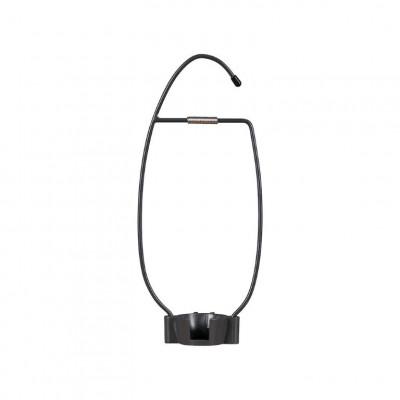 Aufhänger für LED-Laterne mit Bluetooth-Lautsprecher | Grau