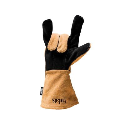 Hitzebeständige Handschuhe | Schwarz/Braun