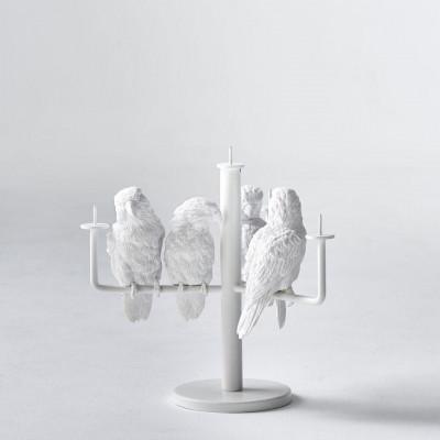 Kerzenständer Papagei X | 4 Papageien