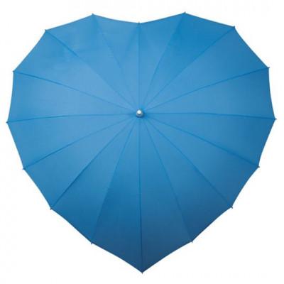 Regenschirmherz | Hellblau
