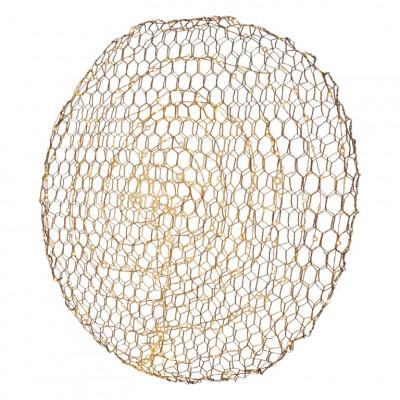 Wandlampe Hayden | Gold