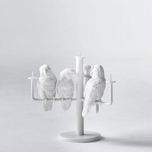 Kerzenständer Papagei X   4 Papageien