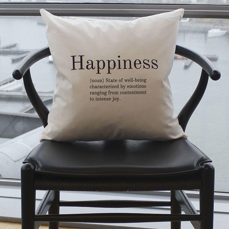 Kussen   Happiness