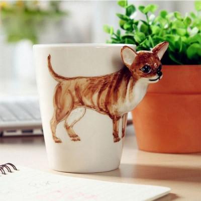 Hand-Painted Mug | Chihuahua