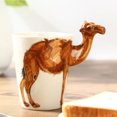Hand-Painted Mug | Camel