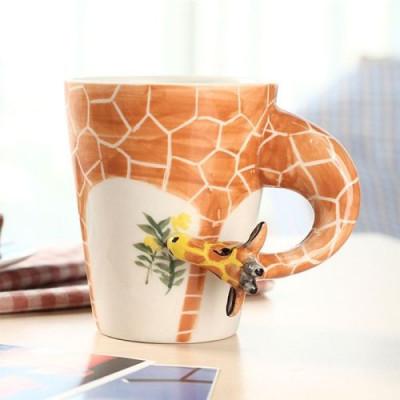 Hand-Painted Mug | Giraffe
