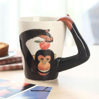 Hand-Painted Mug | Monkey