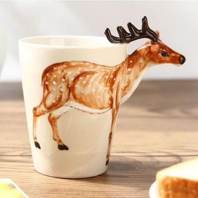 Hand-Painted Mug | Deer