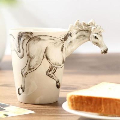 Hand-Painted Mug | Horse