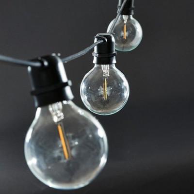 Lichterketten Schwarz Funktion   10 Runde Led-Lampen