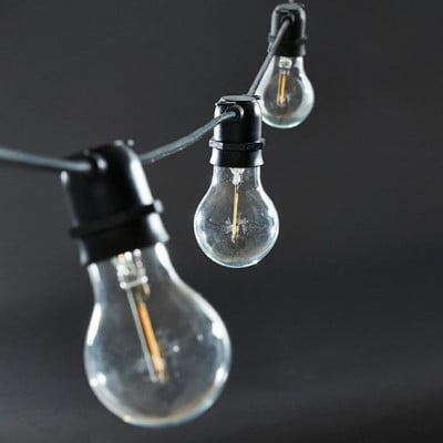Lichterketten Schwarz Funktion | 10 Kleine Runde Led-Lampen