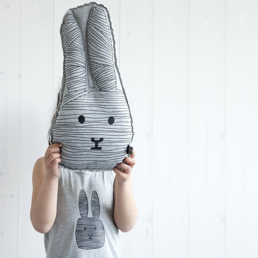 Kissenklappe der Hase | Groß