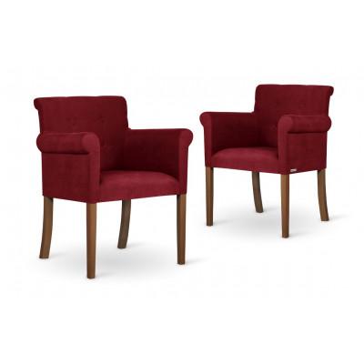 2er-Set Sessel Flacon   Rot