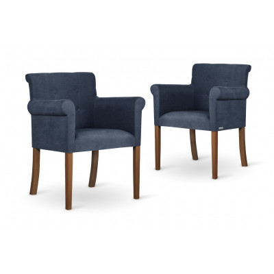 2er-Set Sessel Flacon   Marineblau