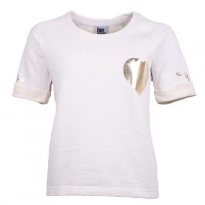 Women's Sweater Short Sleeves   Golden Heart