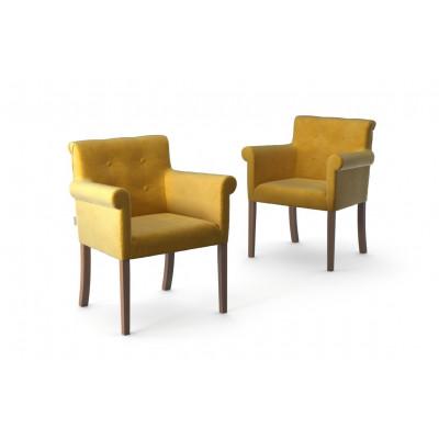 2er-Set Sessel Flacon   Gelb