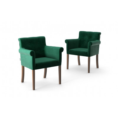 2er-Set Sessel Flacon   Grün