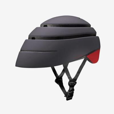 Foldable Helmet Loop | Graphite/Red
