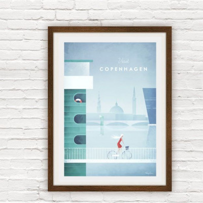 Travel Poster | Copenhagen