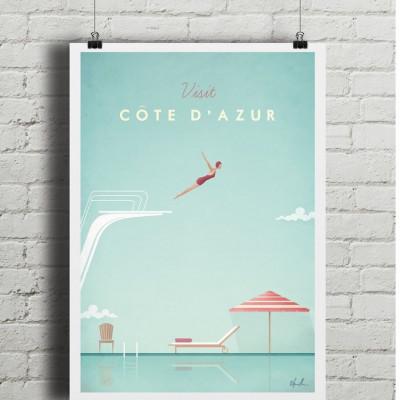 Travel Poster | Cöte d'Azur