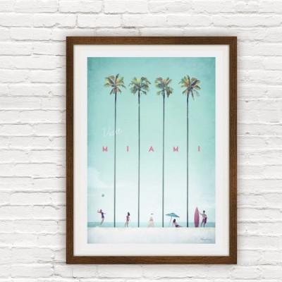 Travel Poster | Miami