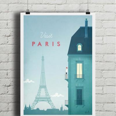 Travel Poster | Paris