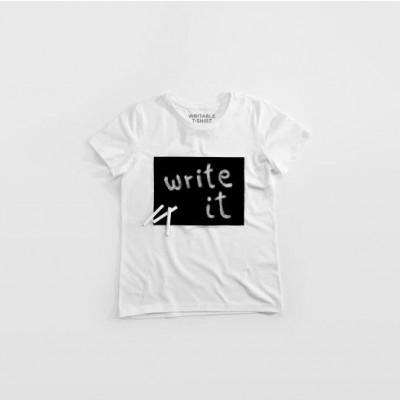 """Cotton Twitter"" Writable T-shirt Women   White"