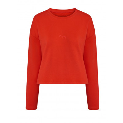 Pullover Good to Go | Feuriges Rot