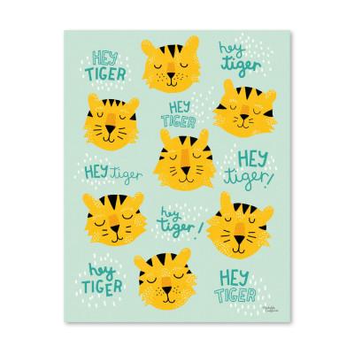 Hey Tiger - Poster
