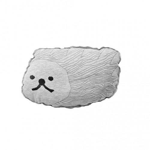 Cuddly hedgehog cushion