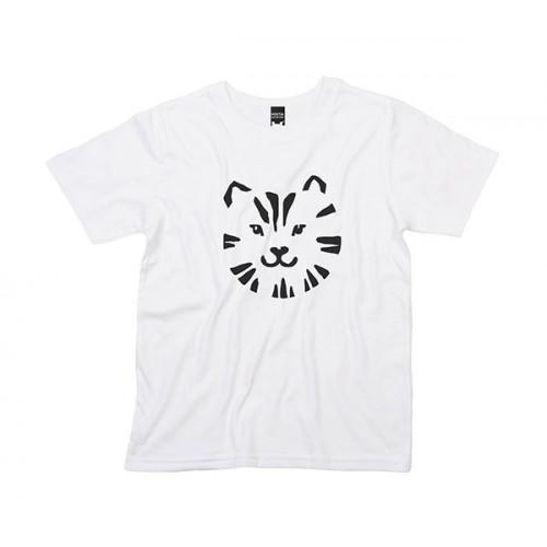 T-Shirt for Kids   Tiger White