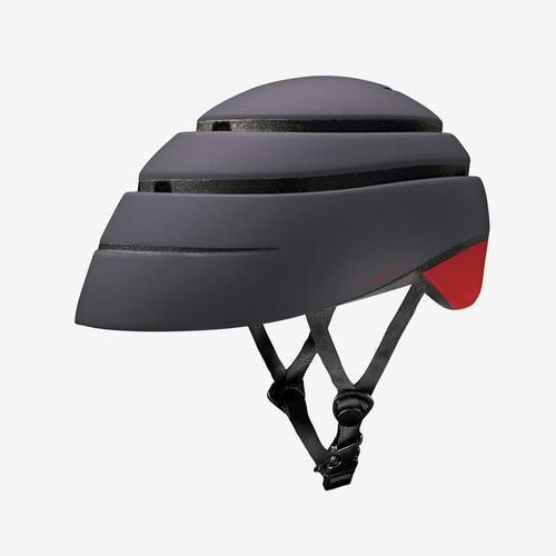 Foldable Helmet Loop   Graphite/Red