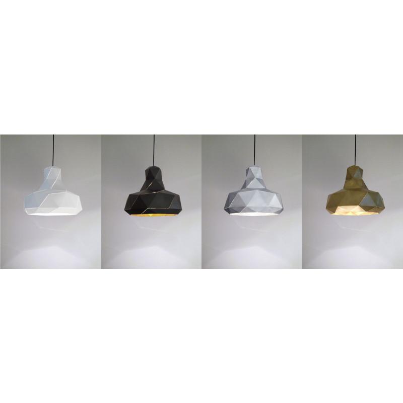 Helix Lampe | Schwarz & Gold