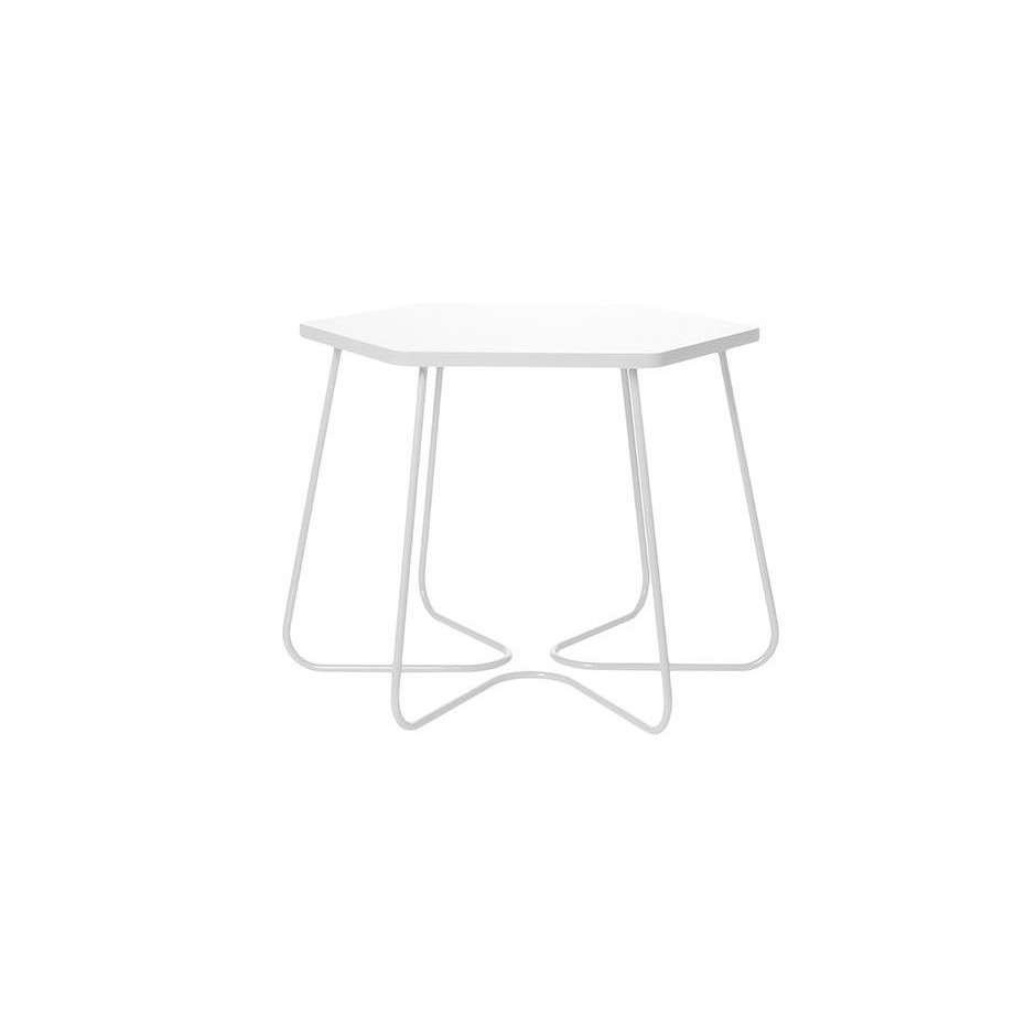 Hexagon Table Small- White