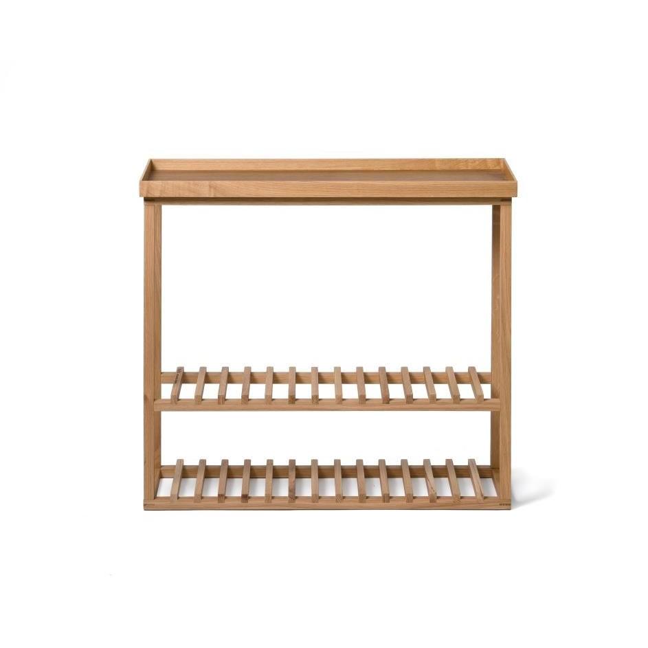 Storage Table Hello   Light Wood