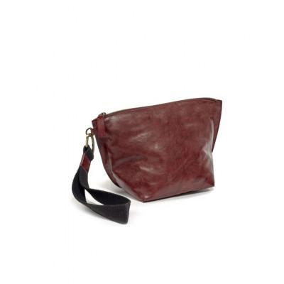 Clutch Bag | Leder | Rot