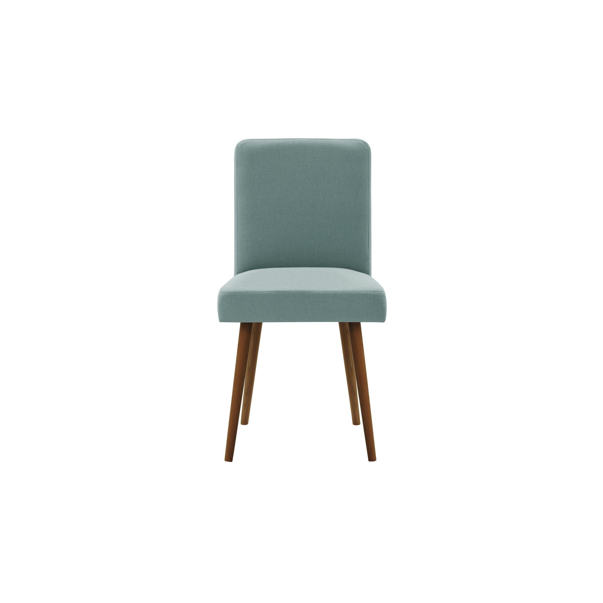 Parfum de fauteuil   Jambes marron   Dossier gris-vert