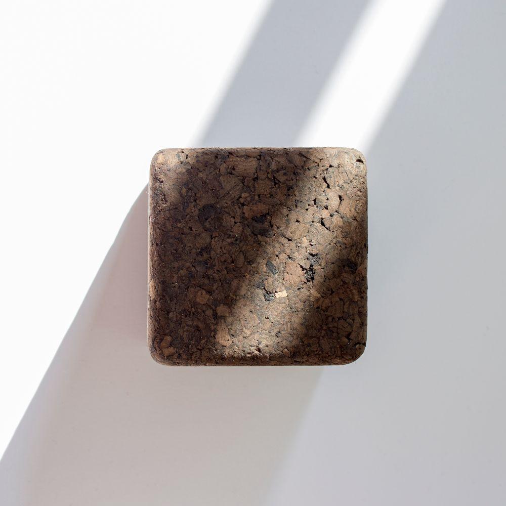 Wall Hook Pega Set of 3   Dark Cork