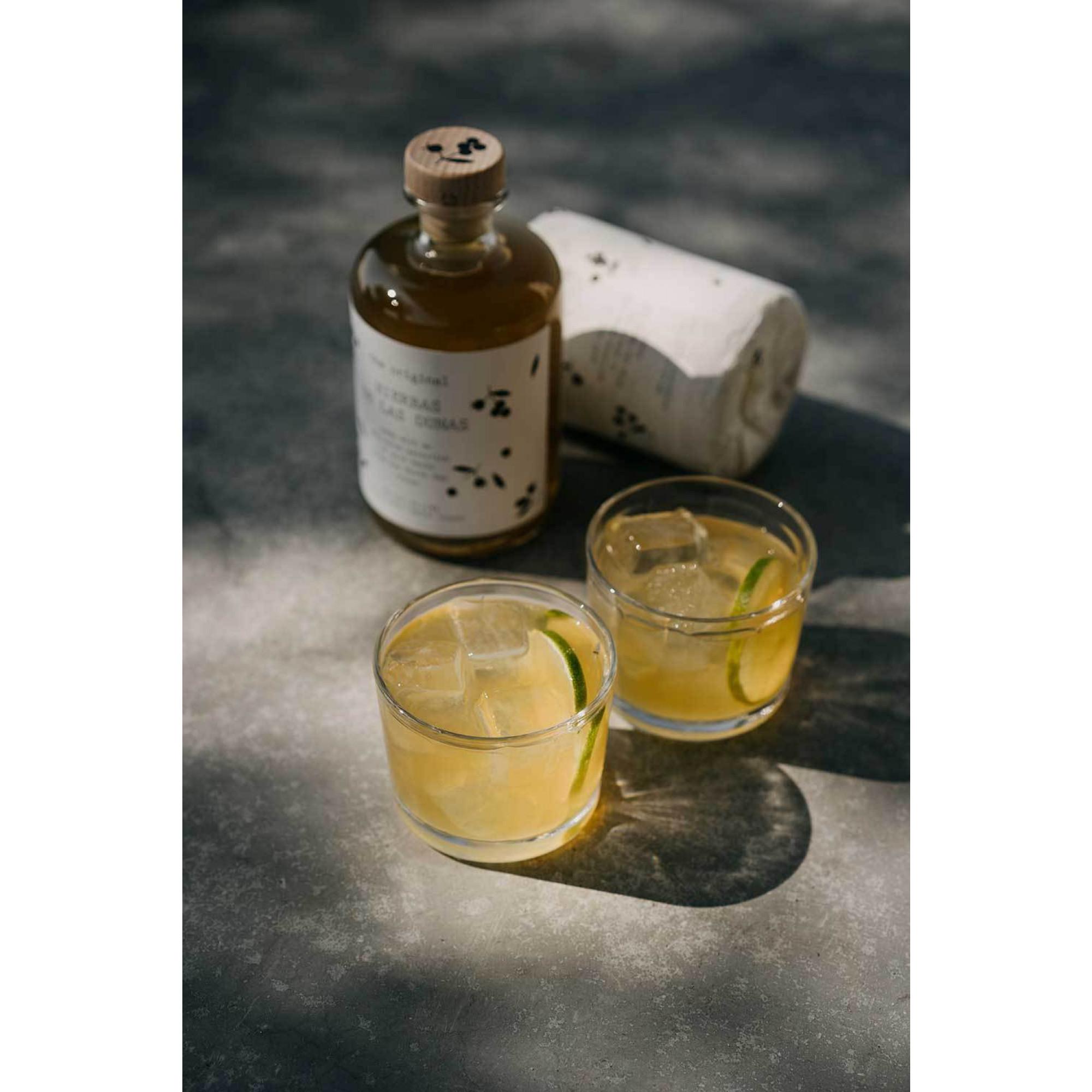 Cocktailschachtel Hierbas de las Dunas mit Glas