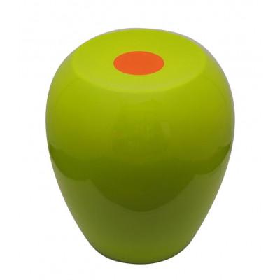 Hi-Stool Ufo Olive/Orange