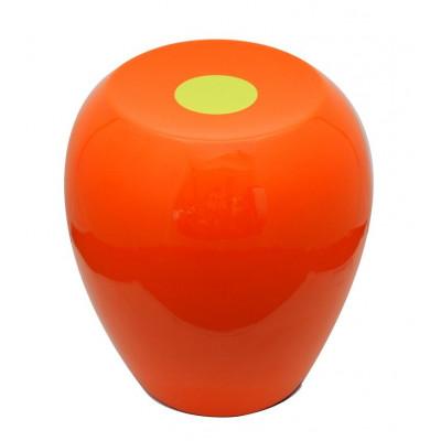 Hi-Stool Ufo Orange/Olive