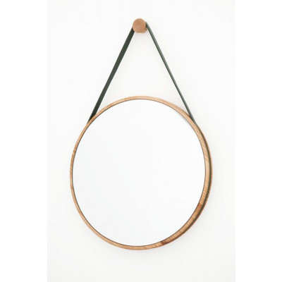 Loop Mirror Medium | Ash & Mid Green