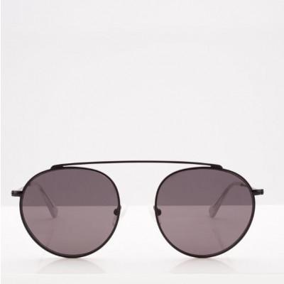 Sonnenbrille Unisex Hills | Schwarz