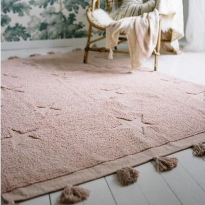 Waschbarer Teppich  | Hippy Stars Nude