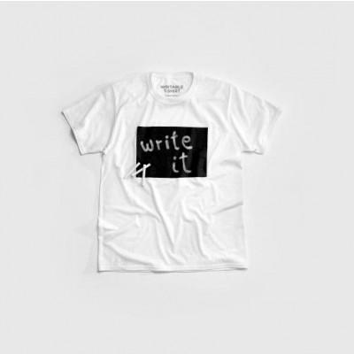 """""""Cotton Twitter"""" Writable T-shirt Men   White"""
