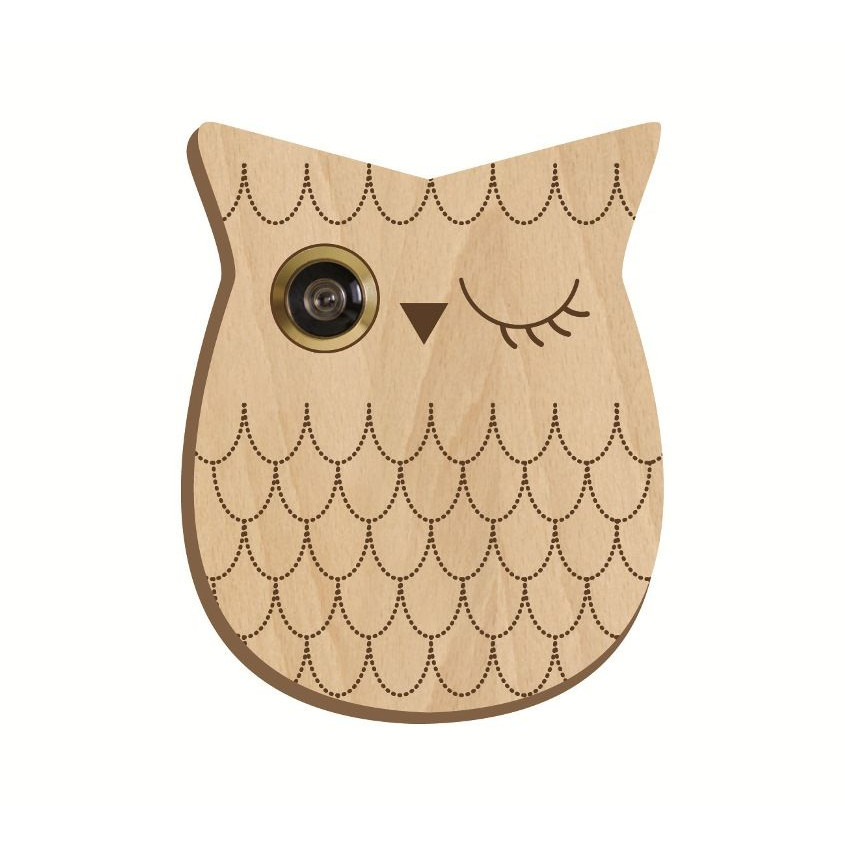Pattern For Peephole Owl