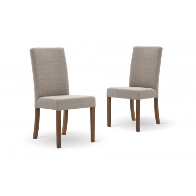 Set of 2 Dining Chairs Tonka | Beige
