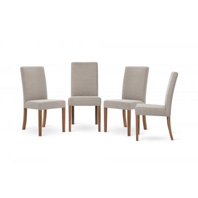 4-er Set Esszimmerstühle Tonka   Beige